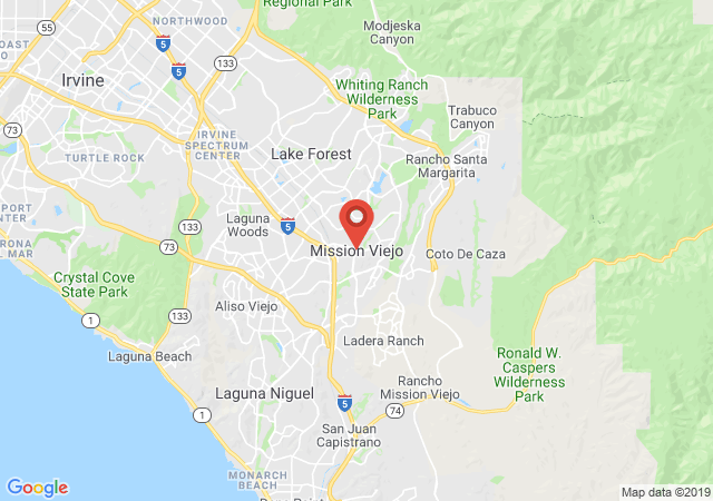 Google map image of Mission Viejo, CA, USA